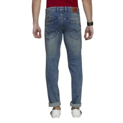 Denim Vistara Blue Men's Torn Jeans