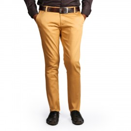 Denim Vistara Men's Slim Fit Golden Trouser