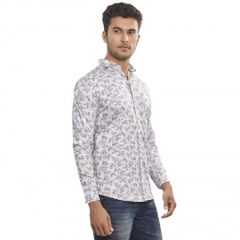 Royal Spider Men's Printed Designed Casual Shirt