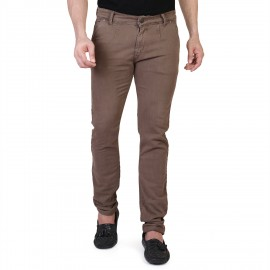 Denim Vistara Men's Brown Slim Fit Jeans