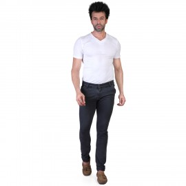 Denim Vistara Men Grey Slim Fit Jeans