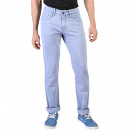 Denim Vistara Men's Sky Blue Comfort Fit Jeans
