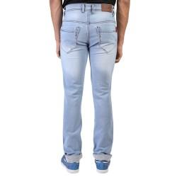 Denim Vistara Men's Blue  Comfort Fit Damage Jeans