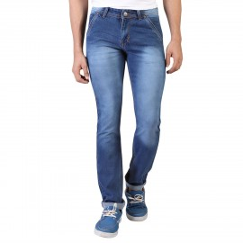 Blue Comfort Fit Denim Vistara Men Jeans