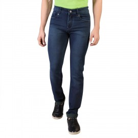 Men's Navy Slim Fit Denim Vistara Jeans
