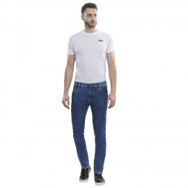 Denim Vistara Blue Slim Fit Men Jeans