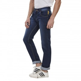 Denim Vistara Dark Blue Comfort Fit Men's Jeans