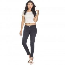 Denim Vistara Women Black Skinny Jeans