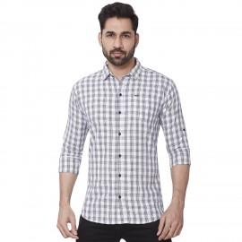 Kaprido Soft Smart Checks Shirt for men