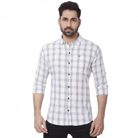 Kaprido Soft Smart Checks Men's Shirt