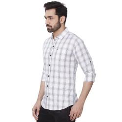 Kaprido Soft Smart Checks Men's Shirt