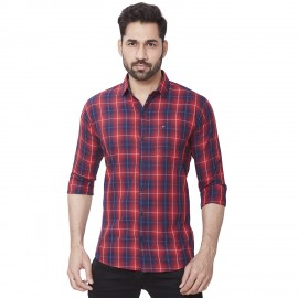Kaprido - Men Soft Smart Checks Shirt