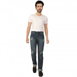 Denim Vistara Damage Skin Fit Men Jeans