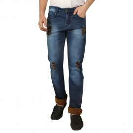 Denim Vistara Men Damage Comfort Fit Jeans