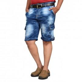 Denim Vistara 6 Pocket Shorts For Men's