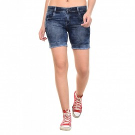 Denim Vistara 6 Pocket Shorts For Men's