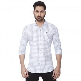 Kaprido Soft Smart Checks Shirt for men's
