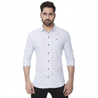 Kaprido Soft Smart Checks Shirt for men's