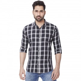 Kaprido - Men's Soft Smart Checks Shirt