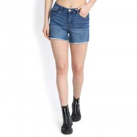 Denim Vistara Women Blue Denim Shorts DV-S004
