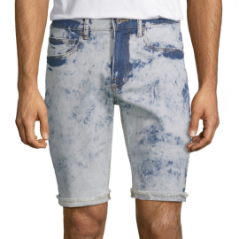 Royal Spider - Sky Blue Denim Short For Men RS-7004