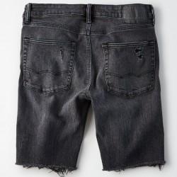 Royal Spider - Denim Black Shorts For Man RS-7003