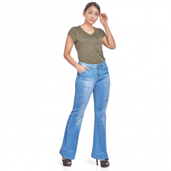 Royal Spiser - Bell Bottom Bootcut Jeans For Women