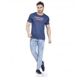 Royal Spider - Men's Comfort Fit Blue Jeans RS-5006